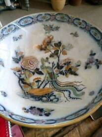 Renovated, Stunning Antique Chinese Bowl