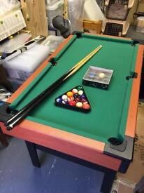 Boys pool table