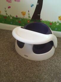 Mamas and papas purple snug chair RRP£40