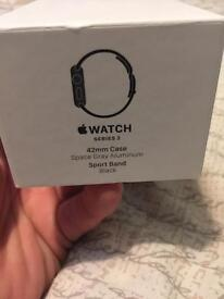 Apple Watch series 2 42mm + accessories