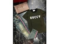 Gucci and balmain