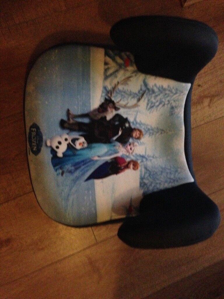 Frozen booster seat