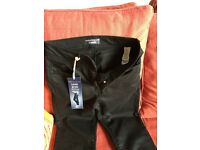 **NEW** M&S SLIM BOOT SCULPT AND LIFT BLACK JEANS SIZE 10 (MEDIUM AND LONG)