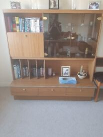 70s display cabinet