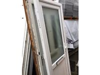 Recycled Upvc Front Door 880 x 2180 £150.00 (Very Clean) (1 key)