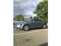 Audi TT coupe light blue 1.8