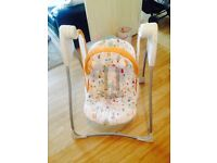 Baby's rocking swing, chair
