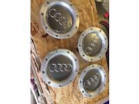 Audi wheel caps