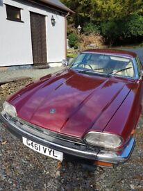 RED JAGUAR XJS FOR SALE LOVELY CAR CREAM LEATHER INTERIOR