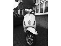Piaggio Typhoon 50. Reg 2012. Only 2739 miles. MOT and Full Service June 16. white