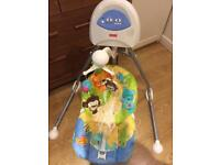 Baby swinging chair by fisher price