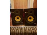 Pair of krk rokit 6 studio monitors