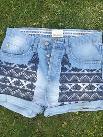 SOULCAL&CO high waisted hot pants