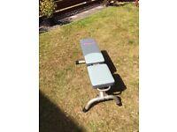 York, 5 position fitness bench
