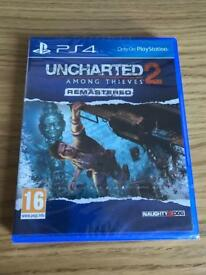 Uncharted 2 PS4