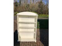 white Aspace bookshelf