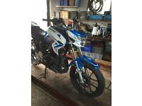 Lexmoto Venom 125 2015 Breaking complete bike for spares