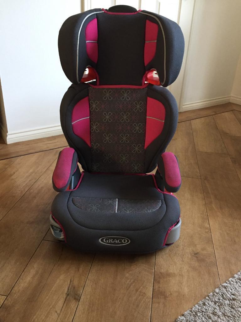 Pink And Grey Graco Car Seat 4 8yrs