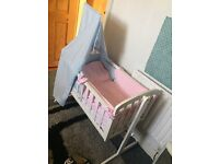 cot for baby It comes with mattress