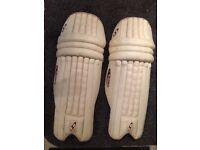 Stac cricket- black prince pads. Men's, left handed.