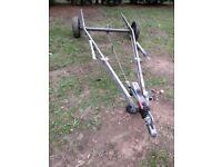 Caravan single axle chassis