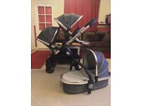 iCandy Peach 3 2016 Double Pram Pushchair CAN POST