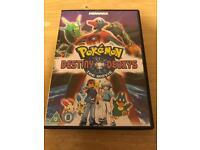 Pokémon Destiny Deoxys The Movie on U.K. DVD