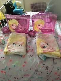 Frozen swimming bag & towel