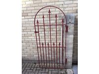 Arched Iron Side Gate - Very Good Heavy Quality
