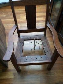 Zimbabwean farm chair