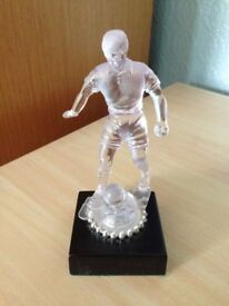 Translucent Football Trophy