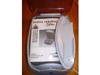 George Foreman Lean Mean Fat Grilling Machine . As new