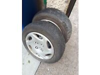 2 x175x65x14 tyres