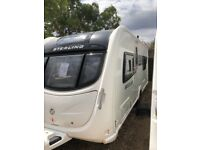 sterling eccles solitaire 2011 4 berth fixed single beds