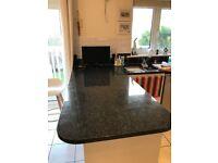 Black Granite worktop