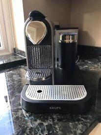 Krups Nespresso Coffee Machine