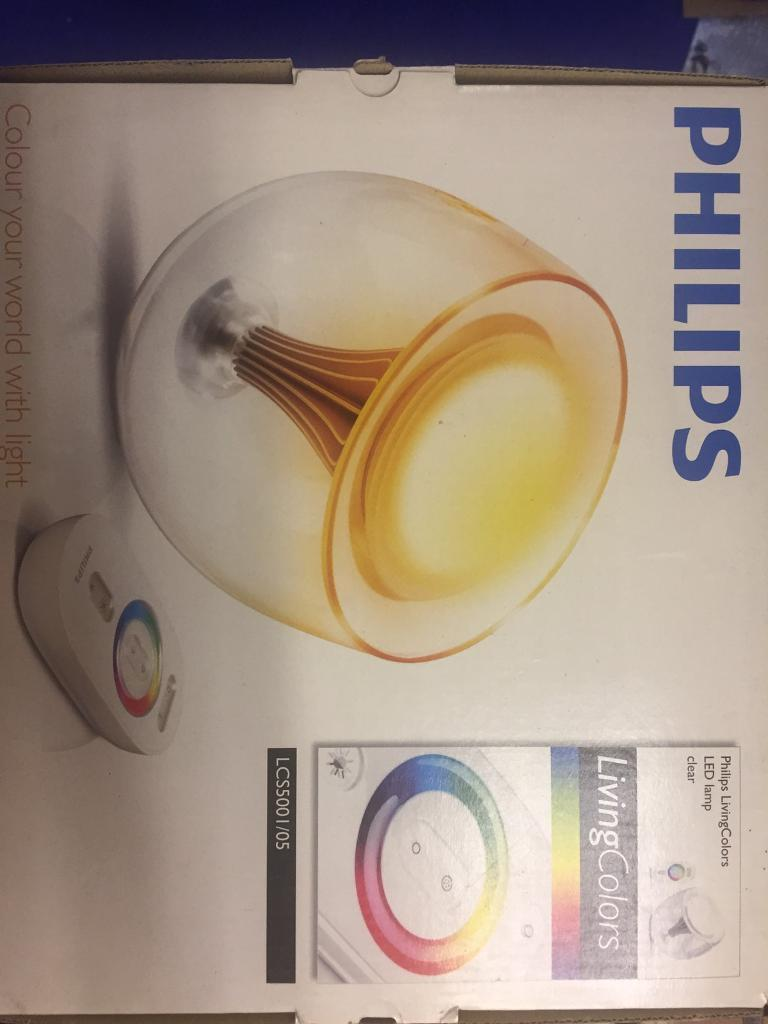 Philips living colors led lamp in pontypool torfaen gumtree philips living colors led lamp parisarafo Image collections