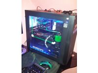 FULL SET UP GAMING PC FOR SALE, EVERYTHING IS INCLUDED.