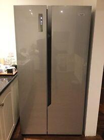 American style fridge freezer by Fridgemaster only 4 months old