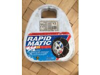 Maggi Rapid Matic snow chains V3 70 (165x15, 175x14) - used but fully functional