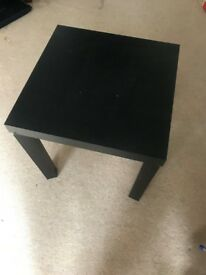 Two coffee tables- one large, one small.