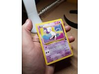 RARE BLACK STAR PROMO POKEMON CARD MEW