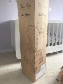 Silver cross reflex stroller platinum new in box