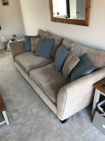 4 Seater sofa with Storage Stool