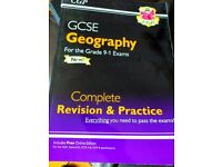 GCSE Geography CGP revision book