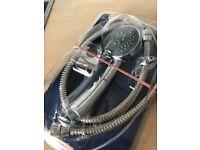 Triton shower head, holder & hose