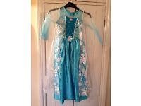Elsa Dress Disney Frozen Age 8-9