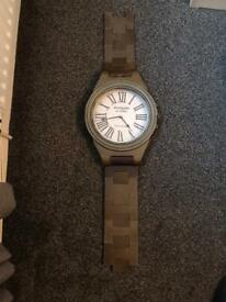 Vintage style watch clock