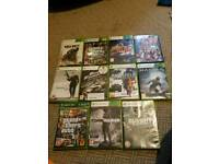 Xbox 360 250g with 11 games