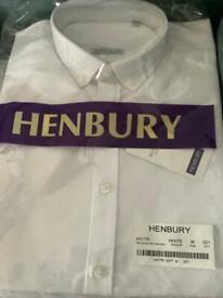 Job lot of men's white shirts